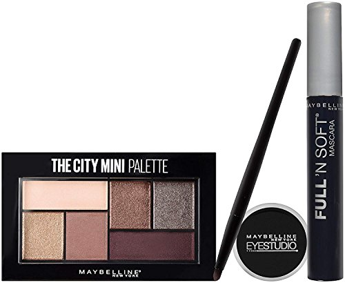 Maybelline New York NY Minute Makeup Kit Eyeshadow Mascara,