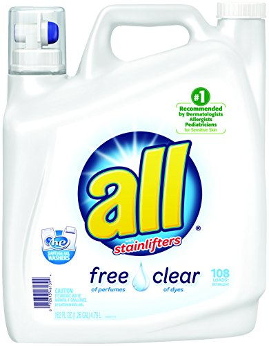 all Free Clear Laundry Detergent with Stainlifters