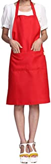 Chef Apron By Catkoo - Solid Color Oil-resistant Restaurant Home Kitchen Cooking Protective Apron