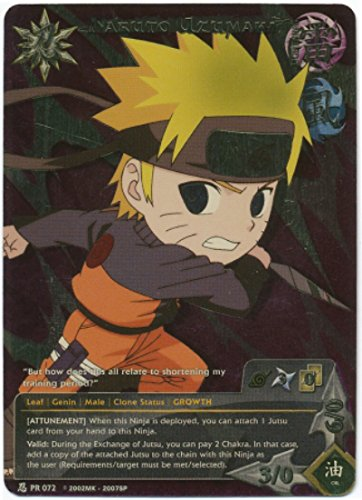 Naruto - Naruto Uzumaki 072 - Battle Tin - Super Rare - Foil