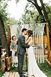 Decor for Arbors and Arches at Ceremonies and Receptions Macrame Wedding Hanging