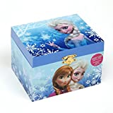 Disney Frozen Elsa and Anna Music Jewelry Box, Blue