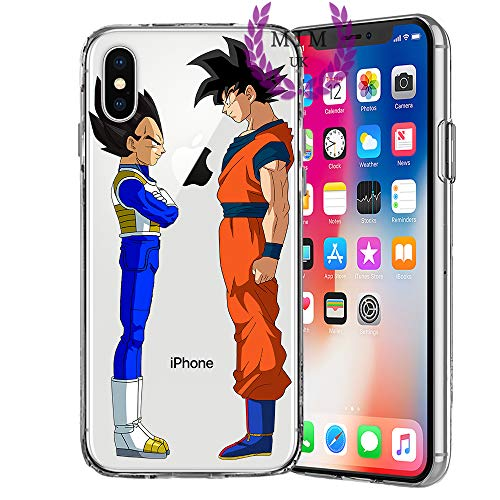 MIM UK Dragon Ball Z Super GT iPhone Case Covers Compatible for All iPhones (iPhone XR, Friends)