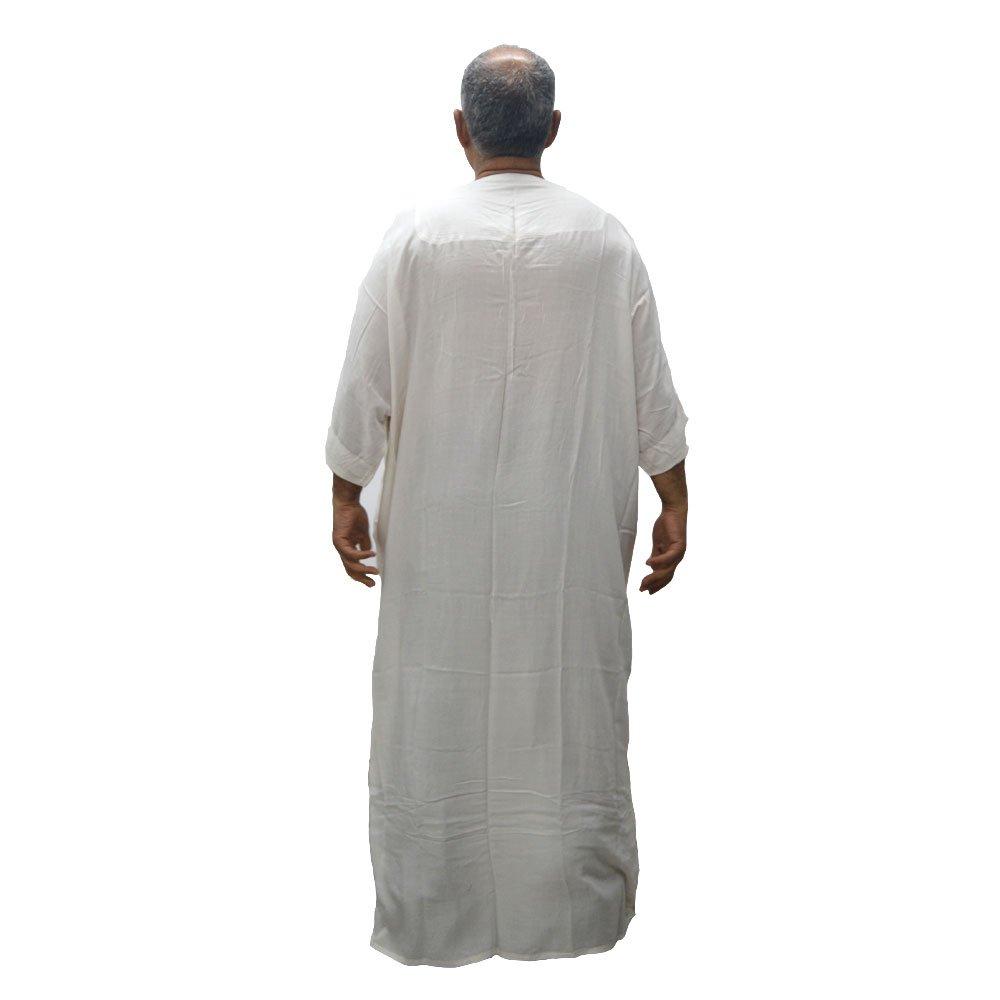 e14c719c Horus Artesanía de Egipto La Chilaba, caftán, túnica, Candora, Bata, más  Amplia para Personas Gruesas o con Problemas de Movilidad, algodón 100%.