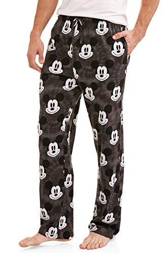 Mickey Mouse Disney All Over Icon Mens Sleep Lounge Pants