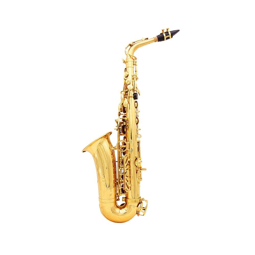 Saxofón Tallado en Superficie de Plástico