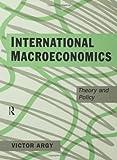 International Macroeconomics, Victor Argy, 041509822X