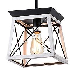 Farmhouse Ceiling Light Fixtures XIPUDA Kitchen Island Lighting, Rustic Dining Room Light Fixture, Farmhouse Pendant Lights, Farm House Chandeliers for… farmhouse ceiling light fixtures