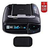 Escort Max 360 Radar Detector (0100024-2) with Car Mat Bundle + 1 Year Extended Warranty
