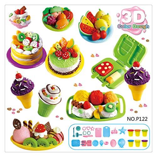 Kanzd Play Dough Mold Set Ice Cream Ice