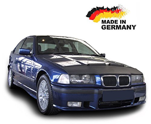 Protector de Capo para BMW 3 E36 Hood Bra máscara Capot Capucha Frond End Cover Bonnet TUNING Black Bull Nuevo