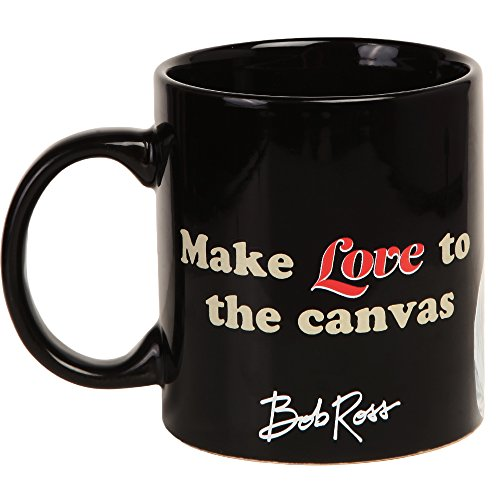 Bob Ross Make Love to the Canvas 16 oz. Coffee - Facebook Painter