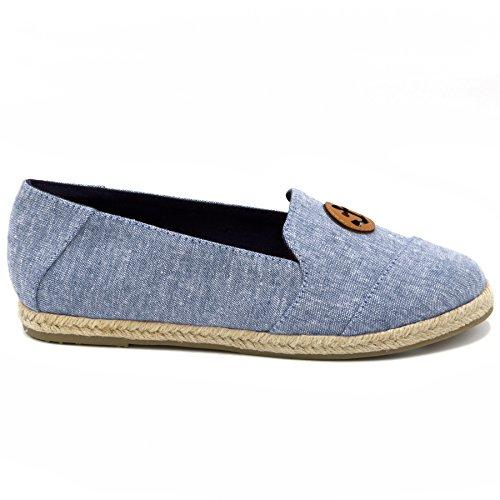Loafer Women's Rudder Nautica Slip Blue Blase On I7Tqxw0v