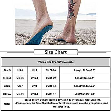 ALXDR 5 Paires De Pieds De Plage Autocollants Imperm/éables Chaussettes De Yoga Antid/érapantes des Semelles Pieds Nus Invisibles Hommes Et Femmes en G/én/éral,S