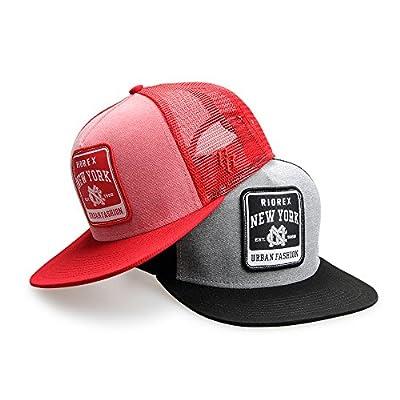 Riorex Sun Hat for Mens mesh Baseball Cap Outdoor Sport Snapback caps1706B014