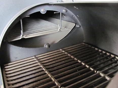 Weber Holzkohlegrill Thermometer Nachrüsten : Grilln smoke sidefirebox classic nur seitliche feuerbox zum