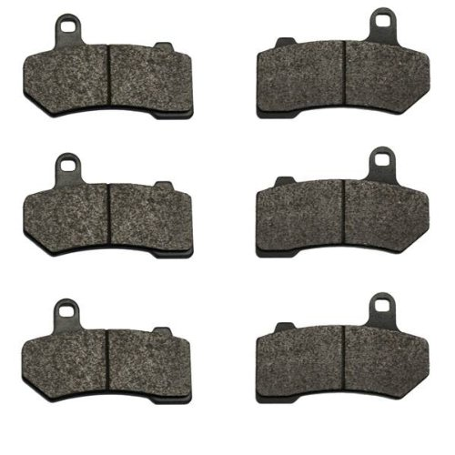Harley Road King FLHR Front and Rear Brake Pads