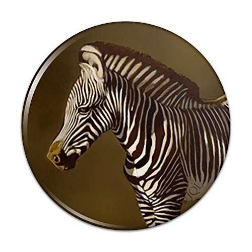 Pin To Foal - Baby Zebra Young Foal Pinback Button Pin Badge - 3