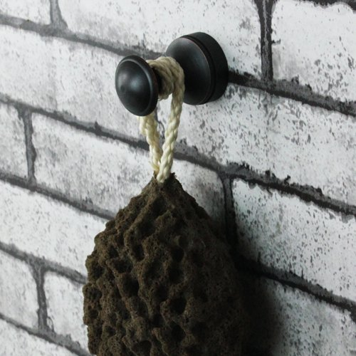 80%OFF Vintage Wall Mount Brass Bathroom Robe Hook or Towel Rack or Mesh Ball Hooks Home Improvement Tools Standing Shelf for Hotel or Bedroom Door or Lavatory Cloth Hook (Oil Rubbed Bronze)