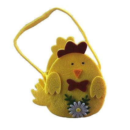 BESTOYARD Linda Bolsa de Huevos de Pascua con Huevos ...