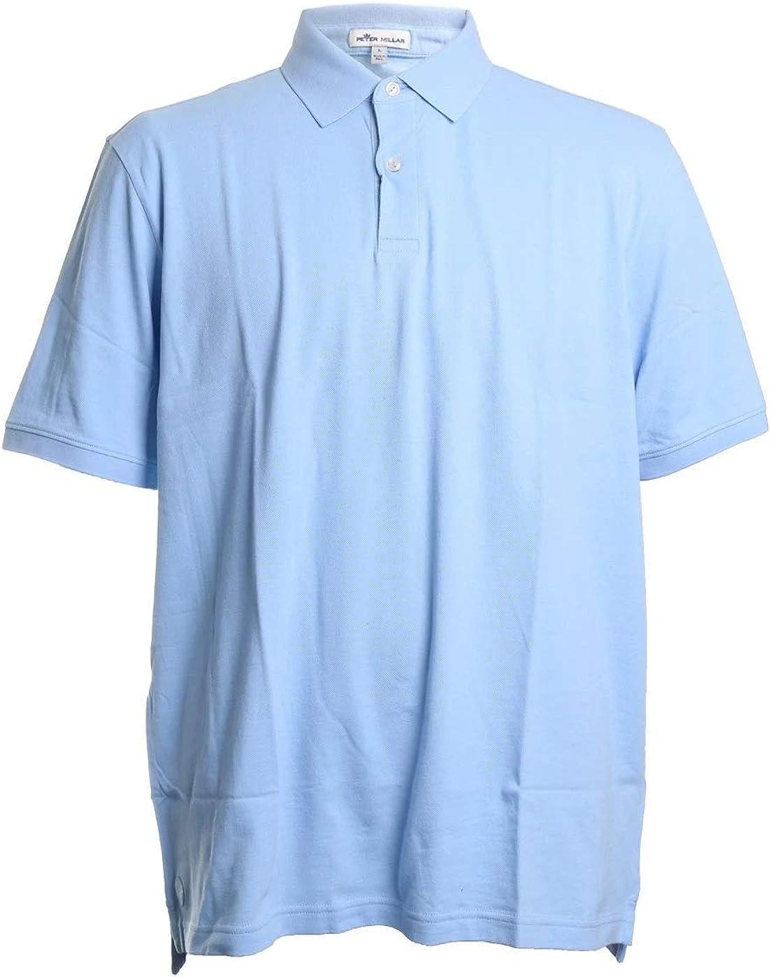 PETER MILLAR Crown Classic Pique Cotton Polo Shirt