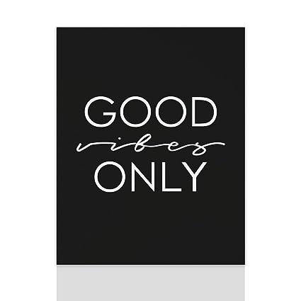 Declea Quadro Moderno Good Vibes Only Quadro Motivazionale