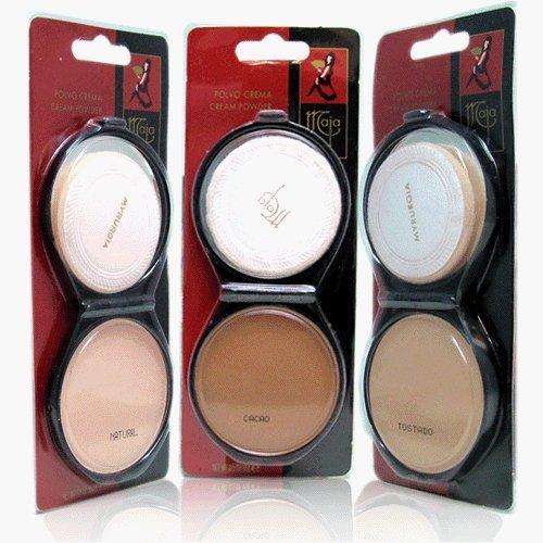 Maja Cream Powder Arabesco .53 Oz. With Mirror-Polvo Crema Compacto Con Espejo