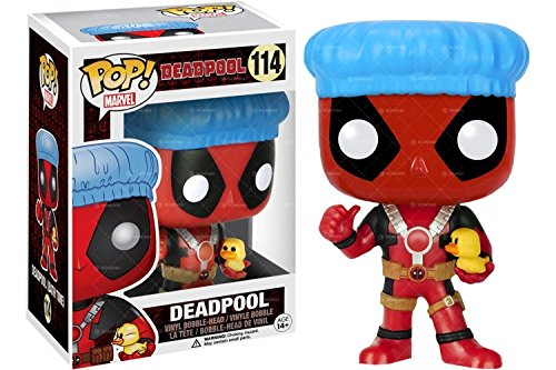 Funko POP! Marvel Bath Time Deadpool Exclusive 114 Vinyl Bobble-Head