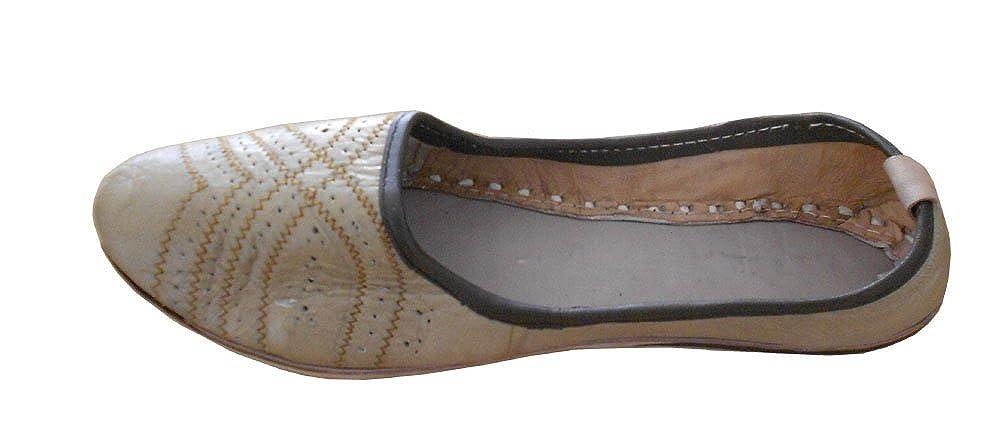 kalra Creations Hombre tradicional indio piel Mocasines Zapatos: Amazon.es: Zapatos y complementos