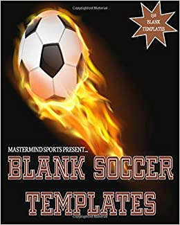 mastermind sports present blank soccer templates soccer playbook