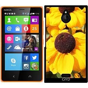 Funda para Nokia X2 - Flores De Color Amarillo Brillante by Christine aka stine1
