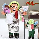 【Peru☆ペルー】世界のお守り★幸運の置物エケッコー人形オブジェ【L】(QXA0502)