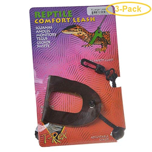 T-Rex Reptile Comfort Leash X-Large - Pack of 3