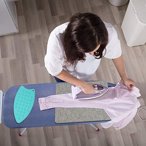 Tuevob Wool Pressing Mat Felt Ironing Pad Heat-Resistant Felted Board for Heat Press Machines and Dryer and Iron, 17 x 13.5in