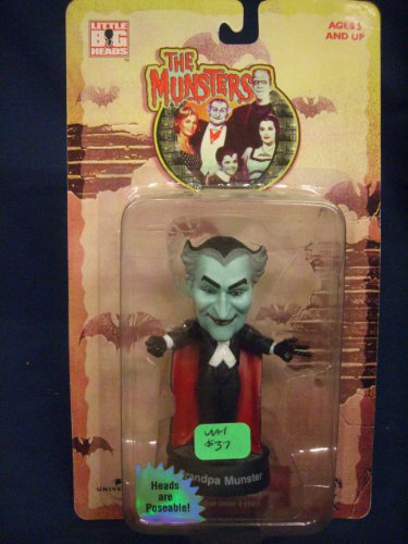 Extremely Rare The Munsters Little Big Head Grandpa 1999 (Grandpa Munsters)