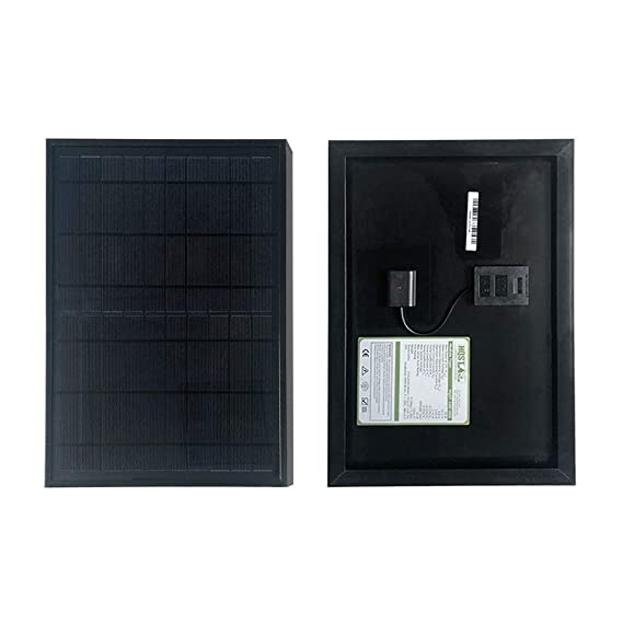 Amazon.com: Hq HQST - Panel solar monocristalino (10 W, 12 V ...
