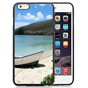 NEW DIY Unique Designed iPhone 6 Plus 5.5 Inch Generation Phone Case For Boat On The Beach Phone Case Cover