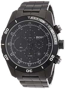 Hugo Boss 1512658 - Reloj cronógrafo de cuarzo para mujer, correa de acero inoxidable color negro