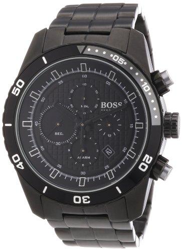 Hugo Boss Mens Black PVD Stainless Steel Watch