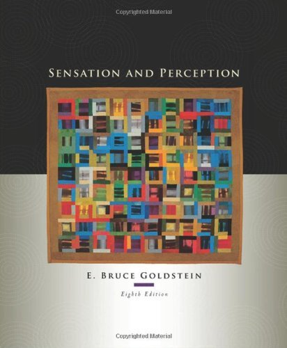 Sensation and Perception 8th Edition by Goldstein, E. Bruce [Hardcover]