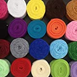 20 Rolls 200 Yards Mixed Color Floral Pattern
