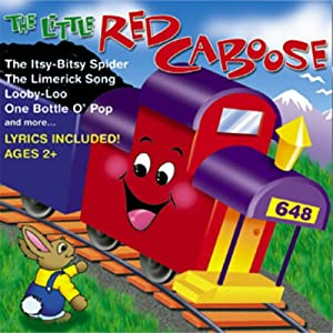 Audio CD Little Red Caboose Book