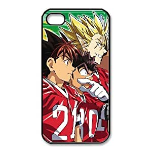 iphone4 4s Black phone case Eyeshield 21 gifts for boys and girls JPA6118585