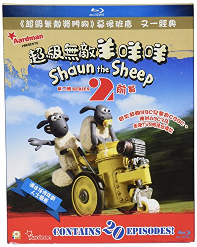 Shaun the Sheep Series 2-Vol. I & II [Blu-ray]