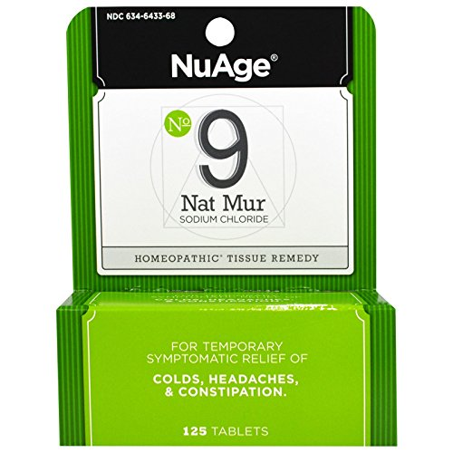 Hyland's, NuAge, No 9 Nat Mur, 125 Tablets - (Nat Mur Homeopathic)