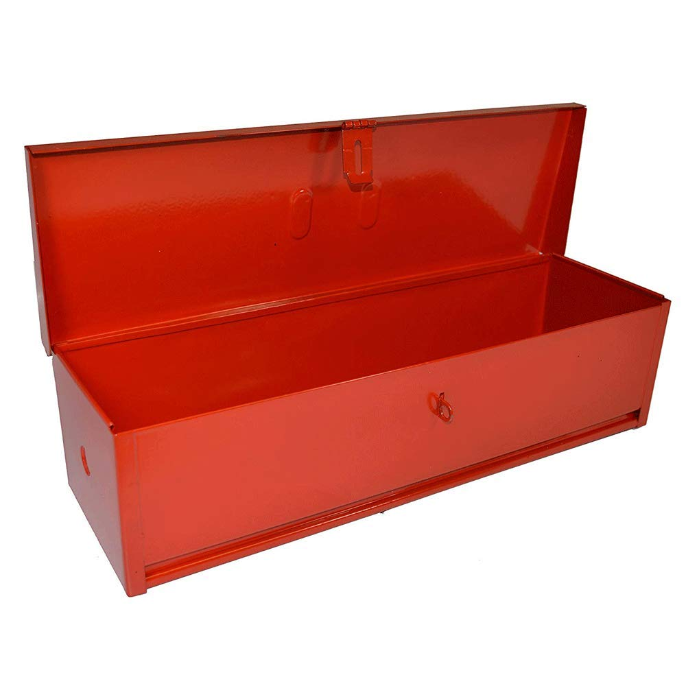 RanchEx 102420 Tool Box - Portable for Trucks/Tractors, Mounting Hardware Included - 20'' - Red by RanchEx