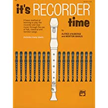 It's Recorder Time
