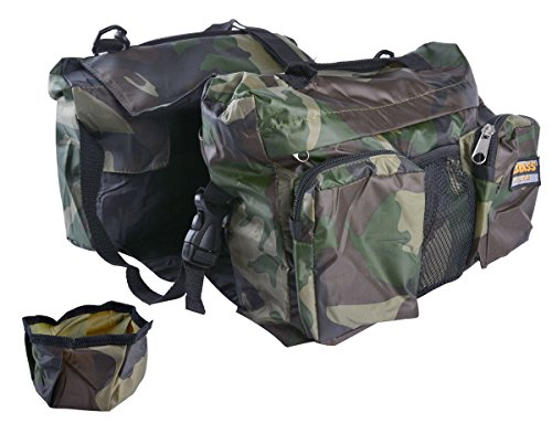 Legend Outdoor Camping Saddle Bag for Large Dog