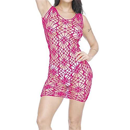 (Ninasill Women Lingerie, ღ ღ ! Exclusive Lingerie Nightwear Underwear Babydoll Sleepwear (Hot Pink))
