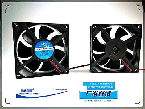 REFIT Mute 8025 8 cm 24 v 12 v to 5 v Computer case Power Amplifier Stereo USB Cooling Fan
